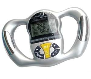 ZJchao(TM) Silver Health Monitor BMI Meter Handheld Tester Calculator Digital Body Fat Analyzer