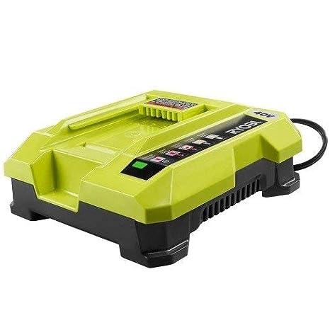 Amazon.com: Ryobi 40-Volt Cargador de iones de litio ...