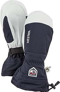 Hestra Unisex Army Leather Heli Ski Mitts/Black / XL