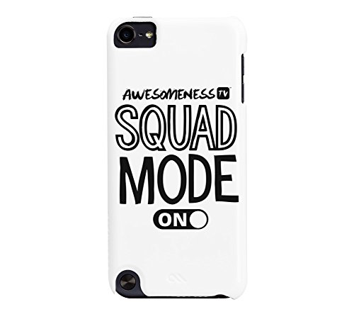AwesomenessTV: Squad Mode On iPod Touch 5G White Barely There Phone Case Case Mate Ipod Touch