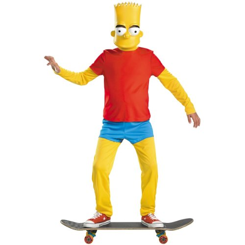 Bart Simpson Deluxe Child Costume - (Bart Simpson Costumes)