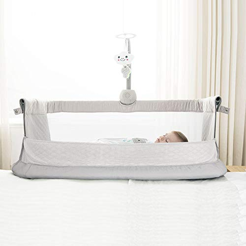 41Quhfja2ZL - Baby Bassinet,RONBEI Bedside Sleeper Baby Bed Cribs,Baby Bed To Bed, Newborn Baby Crib,Adjustable Portable Bed For Infant/Baby Boy/Baby Girl (Bassinet)
