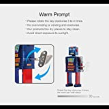 Sinihan Vintage Robot Toy, Tin Wind Up Toys, 80s