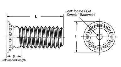 4 Pcs. Driver Studs Inch 3//8-16 Thread x 4 OAL
