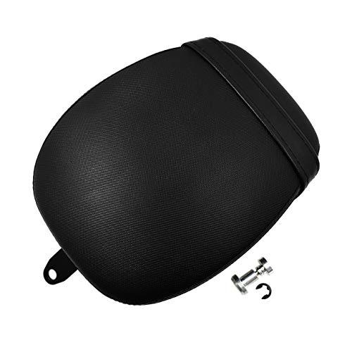 Rear Passenger Pillion Pad Seats with Belt for Harley Sportster 883 1200 2010-2018: