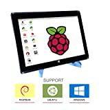 Eleduino Raspberry Pi 10.1 Inch 1280x800 Pixel IPS Hdmi Input 10 Point Capacitive TouchScreen Display