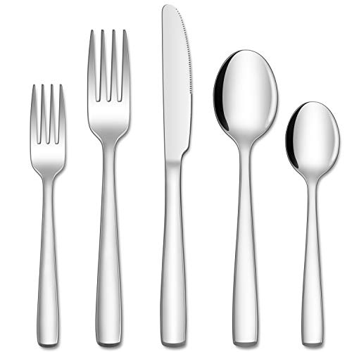 Hiware 60-Piece Silverware Set