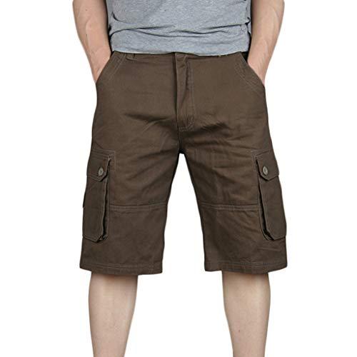 Style Coton Pantalon Café Homme Salopette Holywin poches Nouveau De Mode En Multi PSzqnd0fn