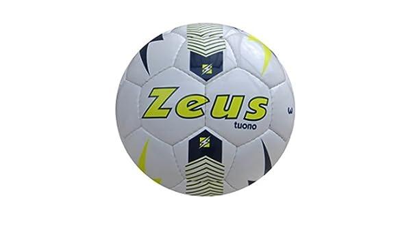 Zeus Balón de fútbol Trueno Ball Calcetto Sport Pegashop Talla 3 ...