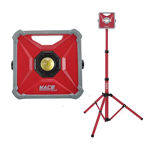 50 Watt LED Work Light Outdoor Flood Light Waterproof Cordless Outdoor Emergency Portable Light for Workshop,Construction Site,