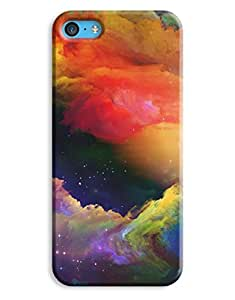 Colour Explosion Nebula Case for your iPhone 5C