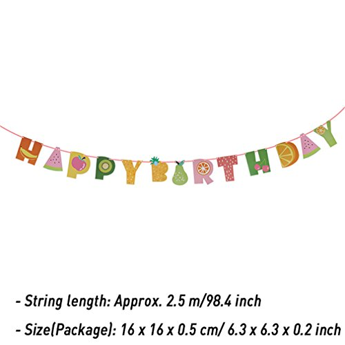 Cute Baby Kids Happy Birthday Banner Garland Hanging White Letters Tag Photo Props Garlands Wedding Decoration Party Event 26]()