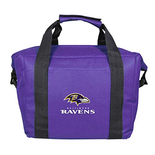 (NFL Baltimore Ravens Soft Sided 12-Pack Kooler Bag )
