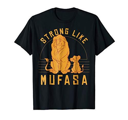 Disney Lion King Simba Strong Like Mufasa Graphic T-Shirt