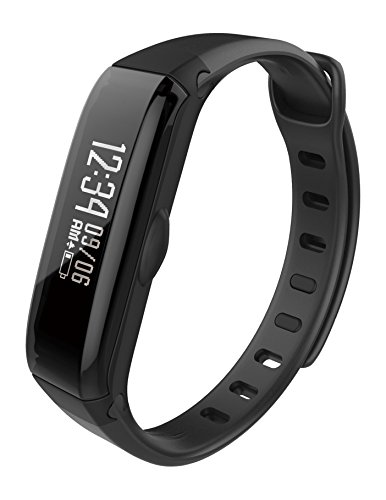 WEGO Hybrid Wrist Activity & Sleep Tracker With Integrated Bluetooth Connectivity, Powered By The Map My Fitness App