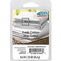 Mainstays Fresh Cotton Wax Cubes 1.25 oz