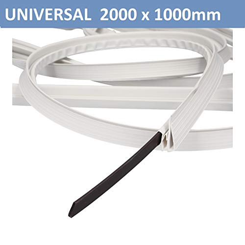🥇 Junta de puerta universal Juego de juntas de puerta Junta magnética 2000×1000 mm Refrigerador