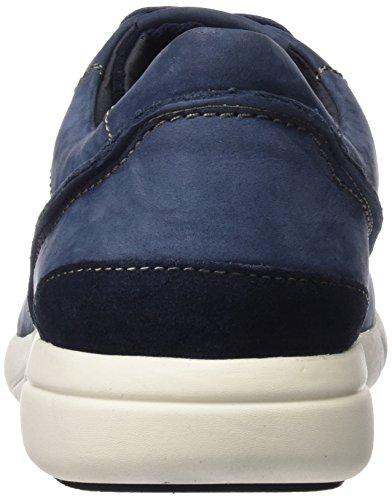 Geox U Brattley A, Zapatillas para Hombre Azul (NAVYC4002)
