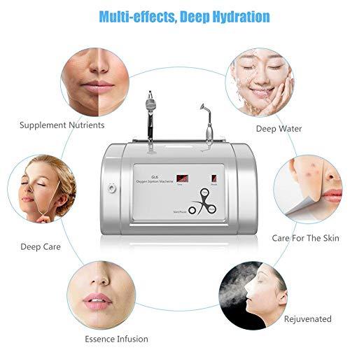 Oxygen Injection Machine Oxygen Spray Water Injection Hydrate Jet Skin Rejuvenation Beauty Machine(White) by Brrnoo (Image #5)