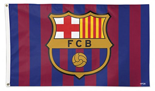 WinCraft FC Barcelona Deluxe Flag 3x5 ()