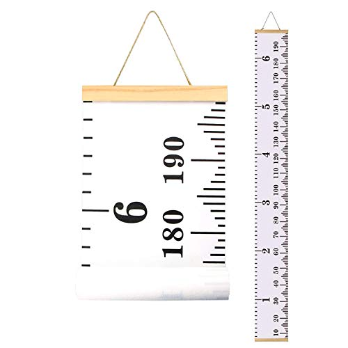Height Chart for Kids,Growth Chart Wall Decor for Baby Room,Canvas Removable Height Ruler 79