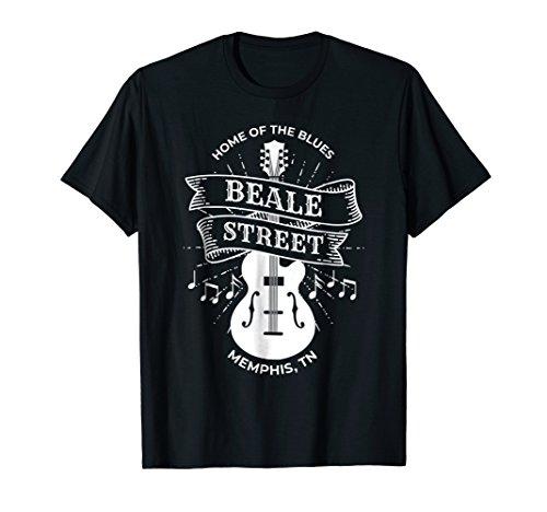 (Memphis Beale Street Shirt TN Blues Music Gift )