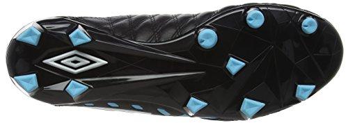 Umbro Men's Medusæ Ii Premier Hg Football Boots Black (Black / White / Bluefish) La8CmAlb