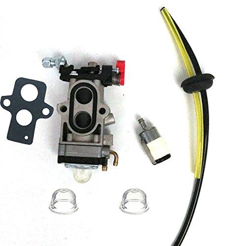 Carburetor & Gasket & Fuel Line Filter For Redmax EBZ7150 EBZ7150RH EBZ7100 EBZ7100RH EBZ7100CA EBZ7100RHCA EBZ7150 EBZ7150RH Back Pack Blower Walbro WYA-81-1 (Blower 1 Kit)