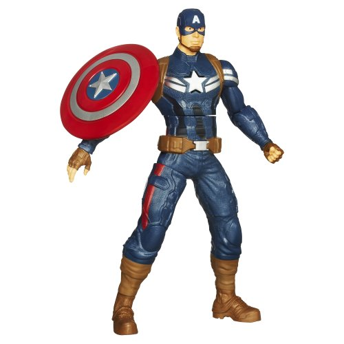 "Captain+America Products : Captain America Shield Throwing 10"" Electronic Action Figure"