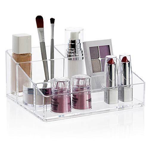 STORi Clear Plastic Vanity Makeup Organizer ()