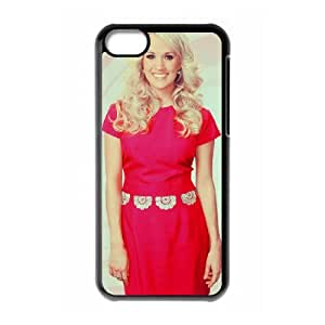 carrie underwood 37 iPhone 5c Cell Phone Case Black PSOC6002625653146