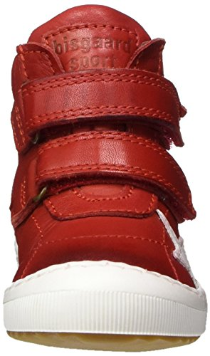 Rot Bisgaard red Zapatillas Klettschuhe Unisex Niños Altas nAB0n8 58f711ecf80d5