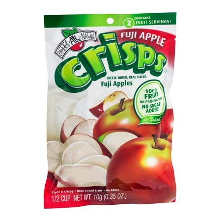 Brothers-All-Natural Fruit Crisp Fuji Apples 12 Half Cup Bags 10 g Each (Pack Of 2) by Brothers-ALL-Natural (Image #1)