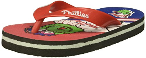 (MLB Philadelphia Phillies Smu 4-7 Youth Mascot Flip Flop Sports Fan Home Decor, Red, One Size)