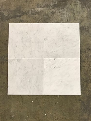 Honed White Carrara Marble 12x12 Buy Online In Uae Hi