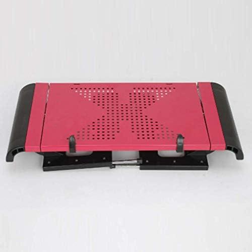 YUMUO De Bureau Pliant pour Ordinateur Portable | Livre | Tablette | Carnet | Table | Bureau | Plateau de lit Petit déjeuner Noir