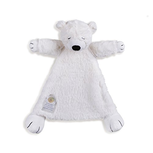 Nat and Jules Polar Bear Blankie (Jelly Bears Toy compare prices)