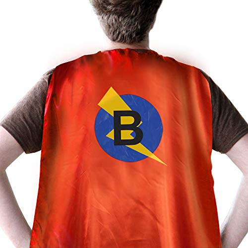Super Grover Costume Adults (SZD Superhero Capes Women,Superhero Costumes Men Dress Up Adult,Super Hero)