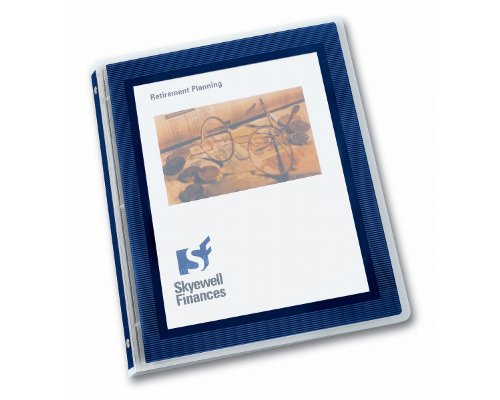 Avery Flexi-View 1/2 inch Binder, Navy Blue, 1 Binder (15766)