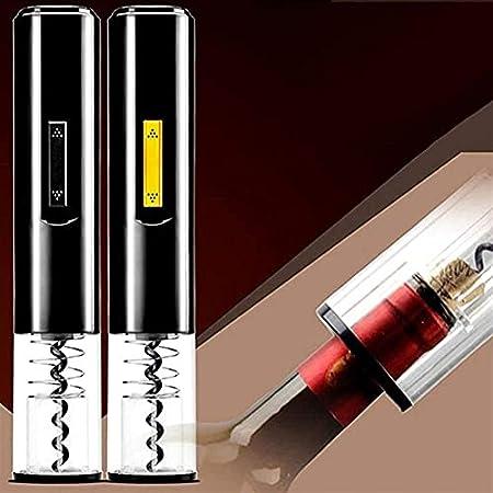 Sacacorchos portátil eléctrico abridor de botellas de vino cortador de corcho removedor automático sacacorchos