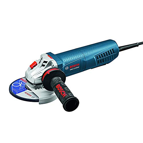 Bosch 5 Inch 13 Amp Angle Grinder with Paddle Switch (Certified Refurbished)
