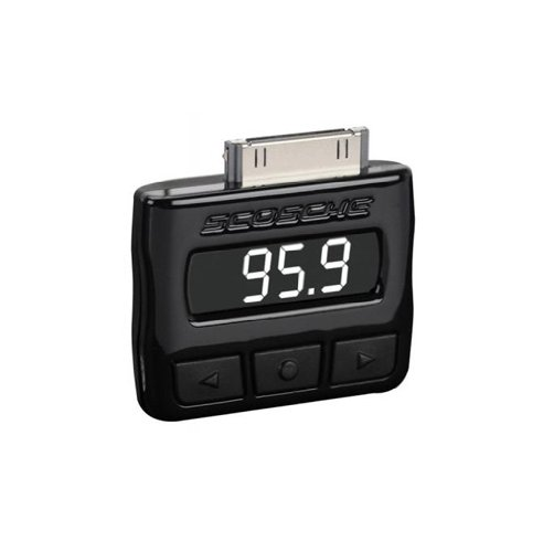 (Scosche FMRDSA tuneFREQ FM Transmitter for iPhone and iPod Touch (Black))