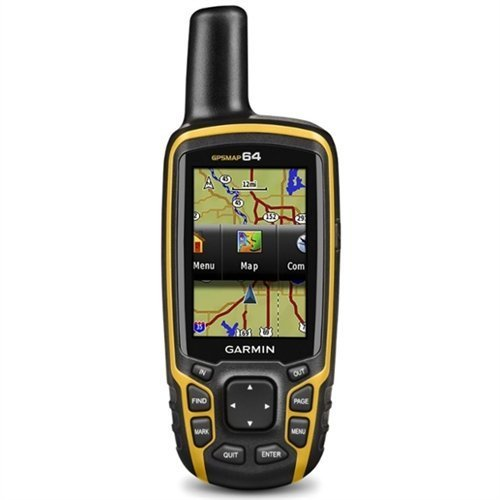 Garmin GPSMAP 64 Worldwide with High-Sensitivity GPS and GLONASS Receiver (Certified Refurbished)