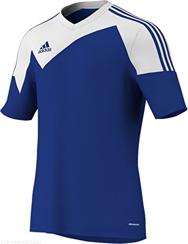- Adidas Toque 13 Mens Short Sleeve Jersey L Bold Blue-White