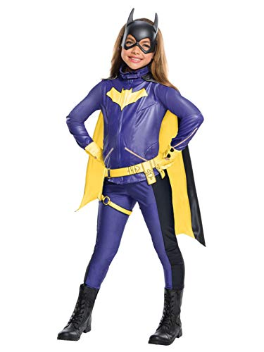 Rubie's Costume Girls DC Comics Premium Batgirl Costume, Small, -