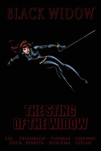 Read Online Black Widow: The Sting of the Widow pdf