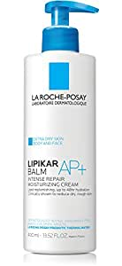 La Roche-Posay Lipikar Balm AP+ Body Cream for Extra Dry Skin Intense Repair Moisturizing Cream with Shea Butter and Glycerin, 13.52 Fl. Oz.