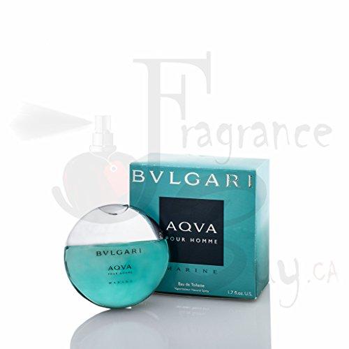 Aqva Marine (Bvlgari Aqva Pour Homme Marine Unboxed Eau De Toilette Spray, 3.4 Ounce)