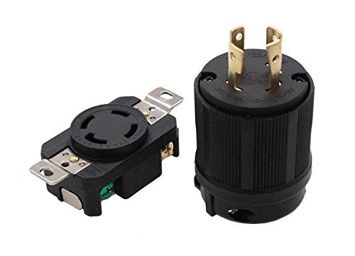 (Plug Connector NEMA L14-30R L14-30P 30A 125/250V for Generator Cord Assembly)