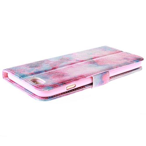 """2015 New Fashion Wallet Case Pour Apple iphone 6 Plus(5.5"""") , Yaobai elegant Fleur [Magnetique] Portefeuille PU Cuir [Closure] Stand Folio Protecteur Housse Etui Coque Case Cover Pour Apple iphone 6 P"""